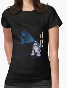 Graff Droid Womens Fitted T-Shirt