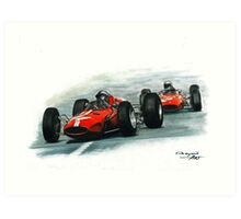 1965  Ferrari 158/Ferrari 1512 Art Print