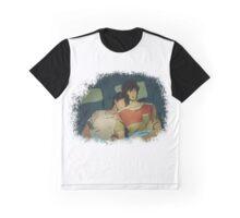 MakoHaru Camping Graphic T-Shirt