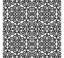 Isometric Mandala Tiling Pattern Photographic Print
