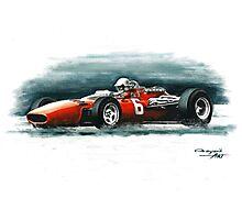 1966  Ferrari 312 F1 Photographic Print