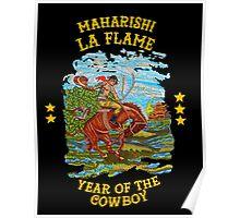 La Flame Rodeo - Travis Scott Poster