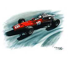 1967  Ferrari 312 F1 Photographic Print