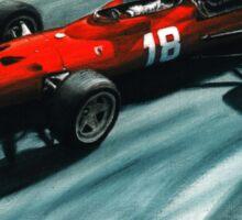 1967  Ferrari 312 F1 Sticker