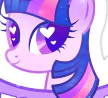 Grunge Twilight Sticker