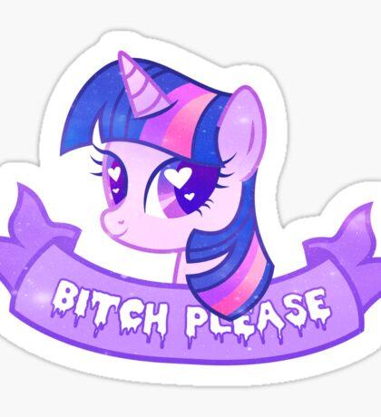 Grunge Twilight Sticker