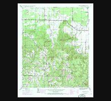 USGS TOPO Map Alabama AL Newburg 304663 1945 24000 Unisex T-Shirt