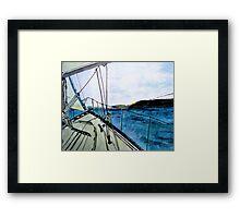 Land Ahoy! Framed Print