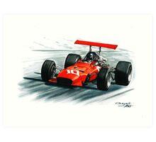 1968  Ferrari 312 F1 Art Print