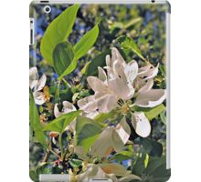 Flowers in White (Ver. 2) iPad Case/Skin