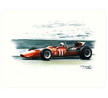 1969  Ferrari 312 F1 Art Print