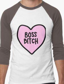 boss bitch Men's Baseball ¾ T-Shirt