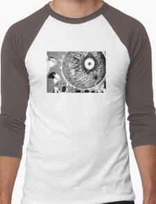 Uzumaki / Spiral - Junji Ito Tshirt (High Quality) Men's Baseball ¾ T-Shirt