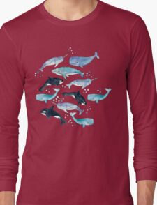 Whales, Orcas & Narwhals Long Sleeve T-Shirt