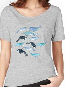 Whales, Orcas & Narwhals Women's Relaxed Fit T-Shirt