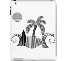 tropical island  iPad Case/Skin