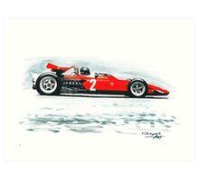 1970  Ferrari 312B Art Print