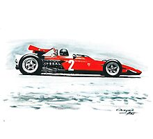 1970  Ferrari 312B Photographic Print