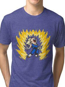 vegeta ssj1 buu saga powerup Tri-blend T-Shirt