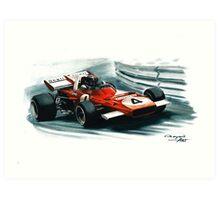 1971  Ferrari 312B2 Art Print