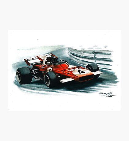 1971  Ferrari 312B2 Photographic Print