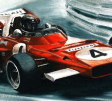 1971  Ferrari 312B2 Sticker
