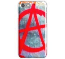 Anarchy Graffiti iPhone Case/Skin