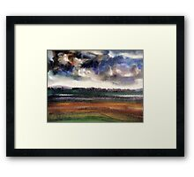 Alien Skies III Framed Print