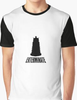 Dalek - Dr Who Graphic T-Shirt