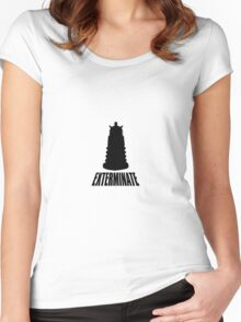 Dalek - Dr Who Women's Fitted Scoop T-Shirt