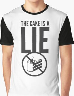 Portal - Cake is a Lie Graphic T-Shirt