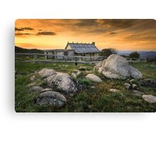Craig's Hut - Mt Stirling Canvas Print