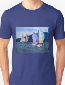 The Race is On in Colour T-Shirt
