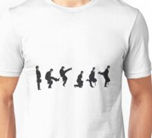 Silly Walk by Banksy Unisex T-Shirt