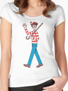 Waldo Women's Fitted Scoop T-Shirt