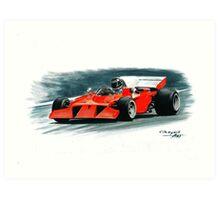 1972  Ferrari 312B3S Art Print
