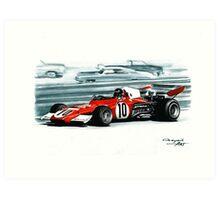1972  Ferrari 312B2 Art Print