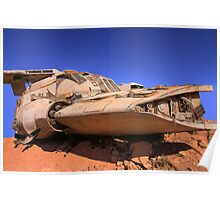 The Spaceship - Coober Pedy Poster