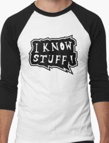 I know stuff Men's Baseball ¾ T-Shirt