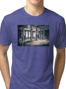 Window light (abandoned factory) Tri-blend T-Shirt