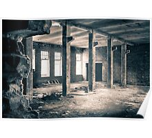 Window light (abandoned factory) Poster