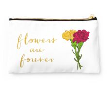 Flowers are Forever Studio Pouch
