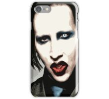 manson iPhone Case/Skin