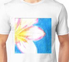Peaceful Plumeria  Unisex T-Shirt