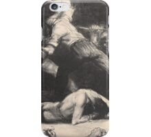 George Wesley Bellows - A Knock-Out  iPhone Case/Skin