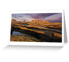 """Low Light Point"", Point Roadknight,Anglesea,Great Ocean Road,Australia. Greeting Card"