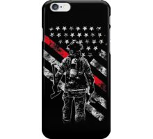 Firefighter Exclusive Thin Red Line iPhone Case/Skin