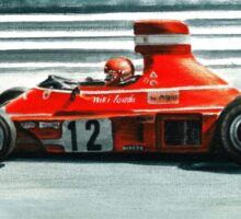 1974  Ferrari 312B3 Sticker