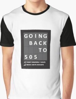 505 - Arctic Monkeys Graphic T-Shirt