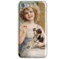 Emile Vernon - Waiting For The Vet iPhone Case/Skin